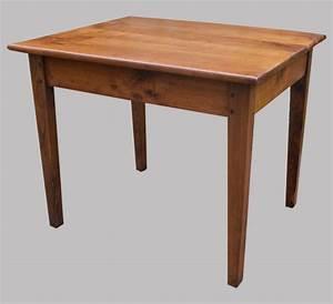 Petite Table En Bois : petite table ou bureau en bois cir ~ Teatrodelosmanantiales.com Idées de Décoration
