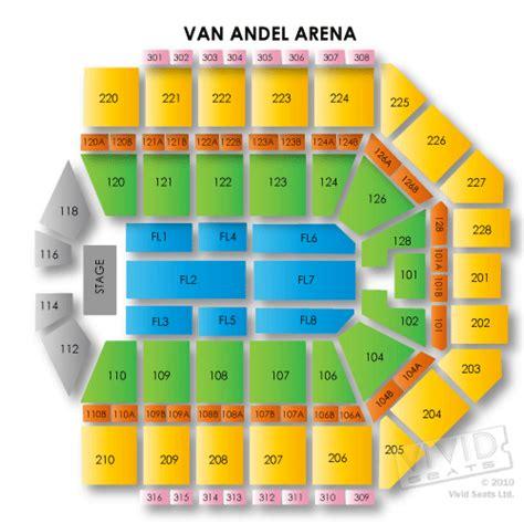 van andel arena  van andel arena information van andel arena seating chart