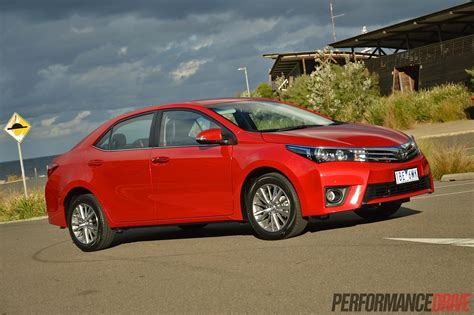 toyota sedan 2014 toyota corolla zr sedan review video performancedrive