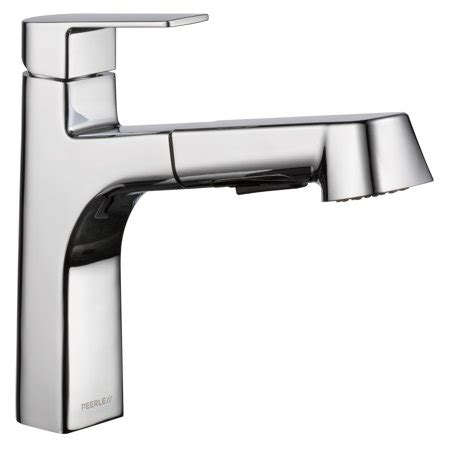 Peerless Kitchen Faucets At Walmart by Peerless Xander Single Handle Pull Out Sprayer Kitchen