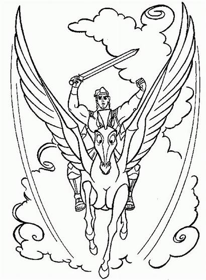 Coloring Pages Hercules Printable