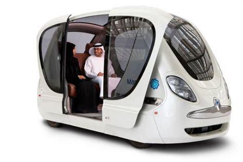 Auto Forwarder Masdar Stad De Toekomst Mo