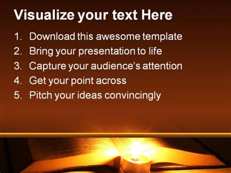 bible religion powerpoint template