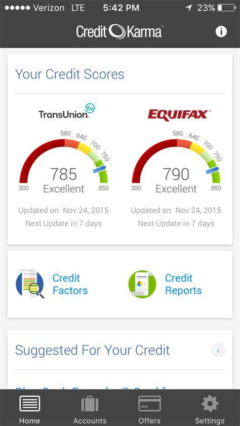 credit karma   real credit score