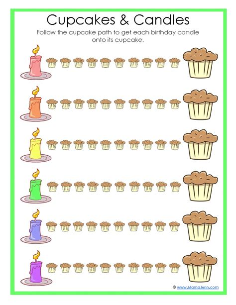 worksheet    cupcakes pinterest