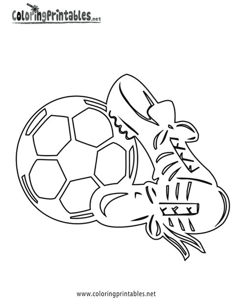 Goal Kleurplaat by Soccer Cleats Coloring Pages Soccer Coloring Pages