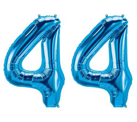 luftballon zahl  blau xxl gratis versand mit helium
