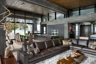 mountain home interiors world of architecture luxury and mountain home by smith architects