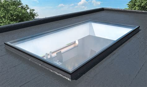 Roof Lights by Flat Rooflight Cubo