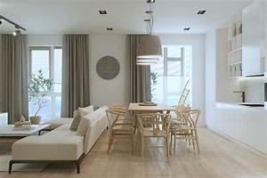 Amenager petit salon avec cuisine ouverte simple meuble for Chaises salle manger capitonnées pour petite cuisine Équipée