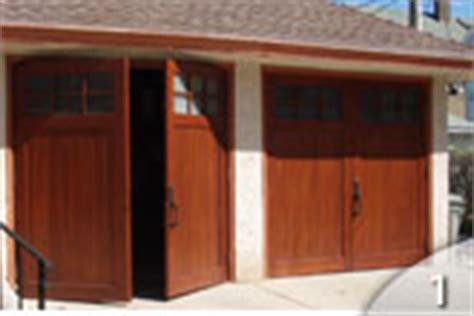 Swinging  Custom Wood  Geis Garage Doors Milwaukee