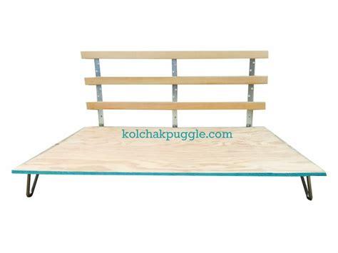 DIY Wood Dog Bed Frame - Kol's Notes