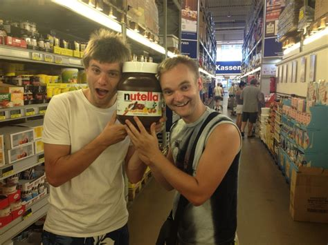 posing with a jug of nutella redflagdeals forums