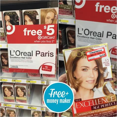 loreal hair color coupons l oreal hair color coupons free 2 04 moneymaker