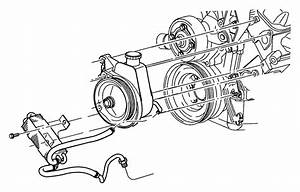 Dodge Durango Cooler  Power Steering  Hosespower
