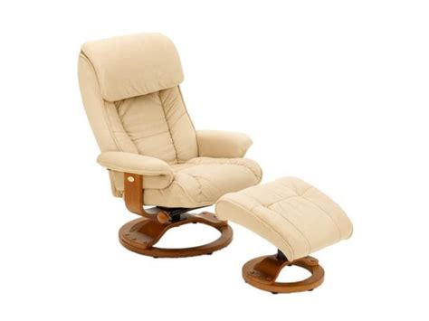 Microfiber Chair And Ottoman by Mac Motion Chairs Hazelnut Microfiber Swivel Recliner