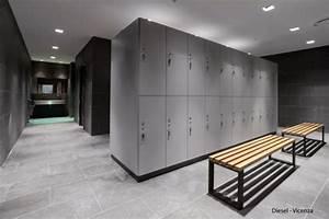 Fashion company diesel commissioned bizinteriors to design for Locker room design ideas