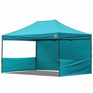 AbcCanopy 10x15 Deluxe Turquoise Pop Up Canopy Trade Show