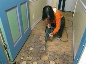 How To Install Linoleum Flooring How Tos DIY