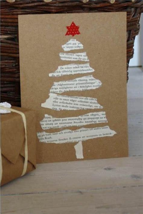 schoene weihnachtskarten selber basteln