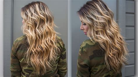 diy tips   beachy waves   hair fashionsycom
