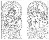 Coloring Deco Nouveau Adult Printable Adults Colouring Patterns Steampunk Twins 1920s Minnesota Butterfly Getcolorings Coloringhome Pa Stained Glass Popular Fancy sketch template