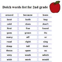 Sight Words Grade 2 - Laptuoso