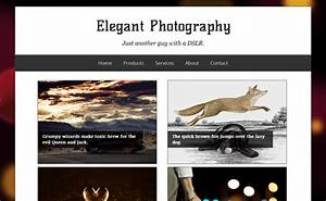 Latest photography blogger templates 2016 free for Photography blogger templates