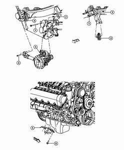 Chrysler Aspen Insulator  Engine Mount  Right