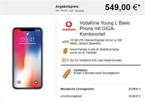 apple iphone  vodafone young  fuer eff  mtl