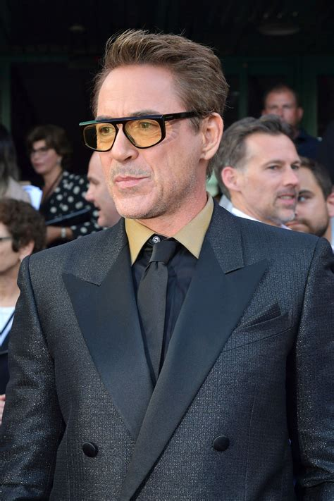 RDJ in Givenchy at the premier of AVENGERS