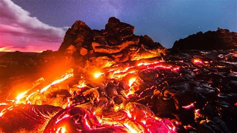 Photographer Captured Lava The Moon Meteor
