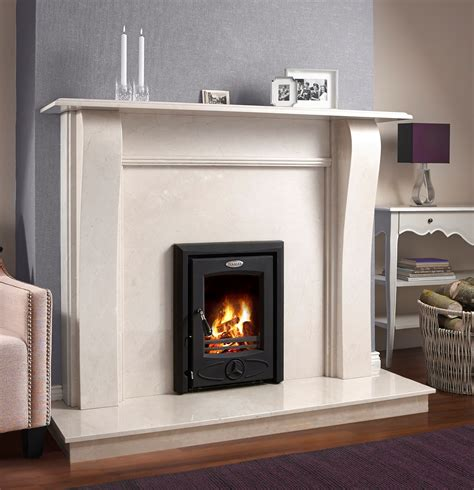 stanley  kw  boiler insert stove matt black