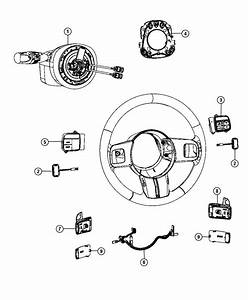 Jeep Grand Cherokee Wiring  Steering Wheel  Export  Trim