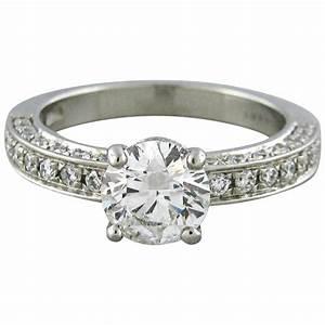 bulgari diamond platinum engagement ring for sale at 1stdibs With bulgari wedding ring