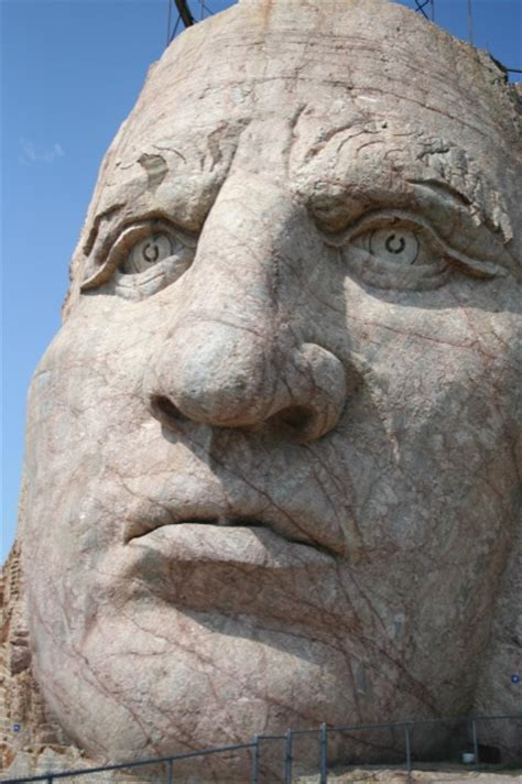 face  face  crazy horse  group travel leader