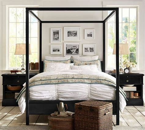 Pottery Barn Bedrooms by Pottery Barn Master Bedroom Ideas Four Post Beds