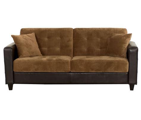 Sofa Bed Click Clack Brown