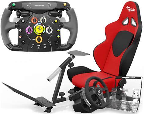 review   thrustmaster ferrari  wheel   rs