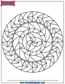 Abstract Pattern Coloring Pages