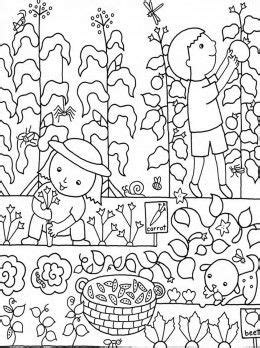 kids gardening coloring pages  colouring pictures  print  coloring pictures garden