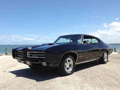 Pontiac Car : 1969 Pontiac Gto For Sale