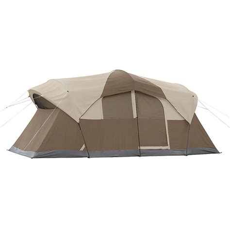 tent with hinged door coleman weathermaster 10 person tent with hinged door