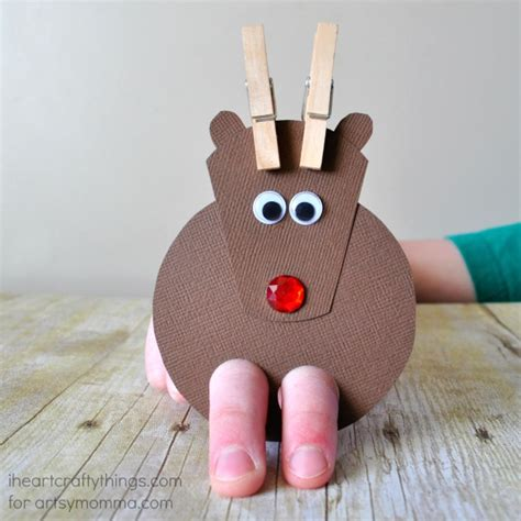 20 reindeer crafts your students will proud to be 137 | reindeer02