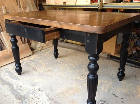 Hand Made Harradine Kitchen Table By Farmhouse Table. Table Paper. Ccbc Help Desk. Louis Xiv Desk. Live Edge Dining Tables. Discount Pool Tables. Uttermost End Tables. Farm Tables For Sale. Tile Table