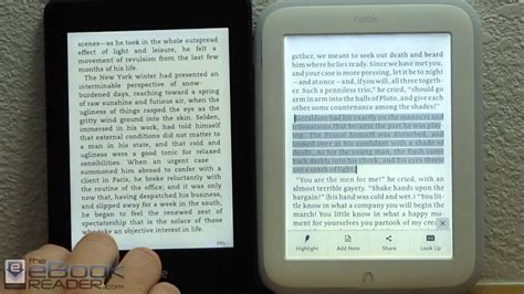Amazon Kindle Paperwhite Vs Nook Glowlight Review