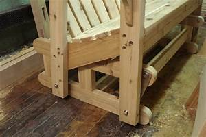 Build Glider Bench Plans DIY PDF used woodwork machinery