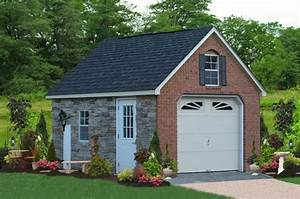 one car prefab car garages 10039s of choices amish built With amish sheds nh