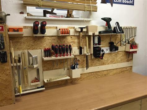 French Cleat Aufhngesystem Fr Werkzeuge Garage