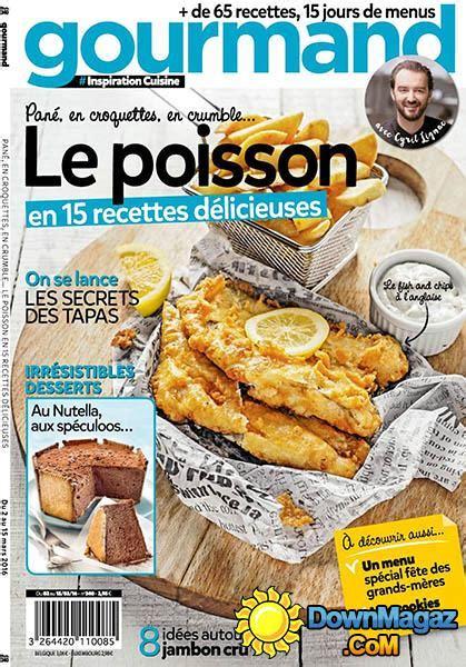 gourmand magazine cuisine gourmand 2 mars 2016 no 340 pdf magazines